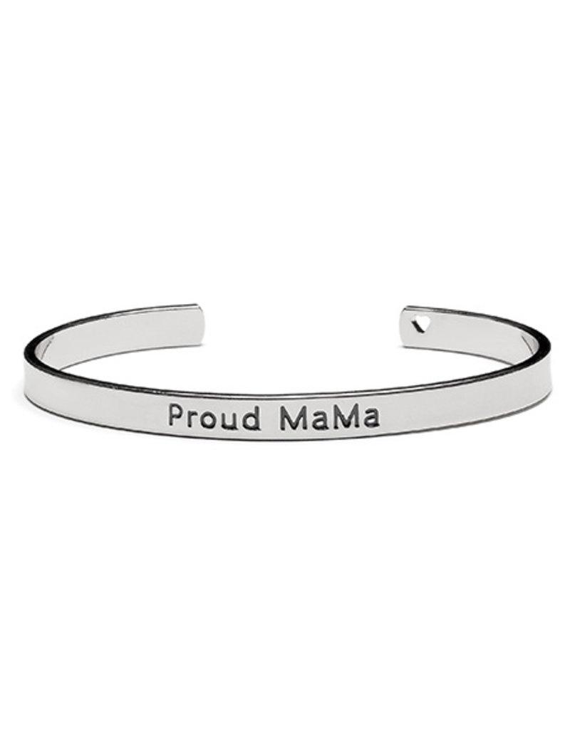 Proud Mama Proud Mama Bangle Bracelet Zilver