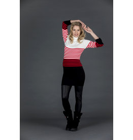 Love2Wait Love2Wait knit Dress with collar striped
