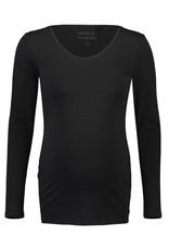 Noppies Noppies Shirt LS ronde hals Berlin zwart 90N0013 P090
