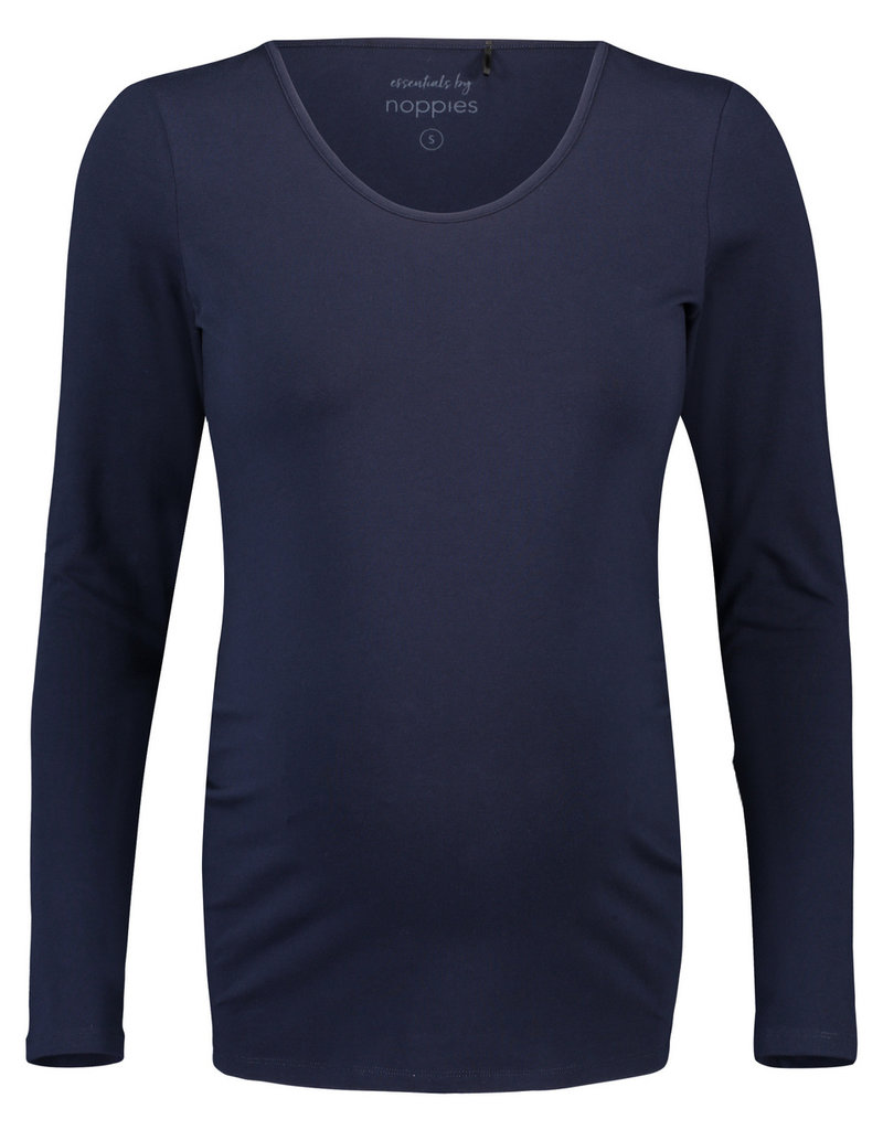 Noppies Noppies Shirt LS ronde hals Berlin Night blauw 90N0013 P277