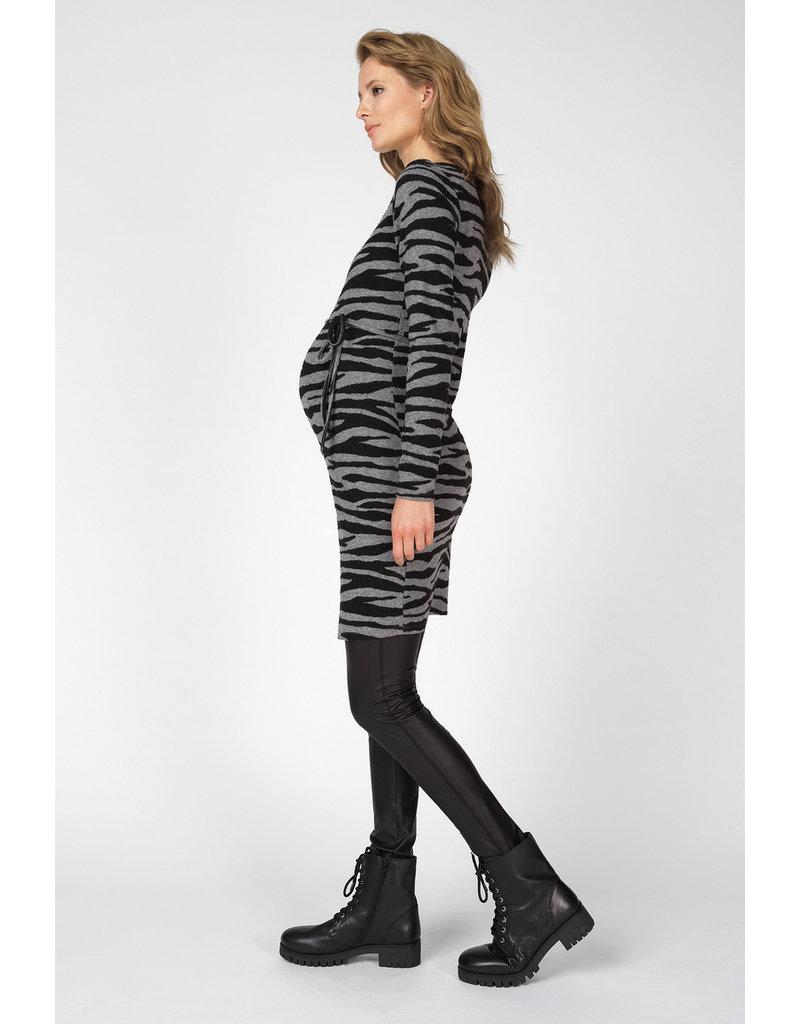 Supermom Supermom Legging Shine zwart 92N1401 P090