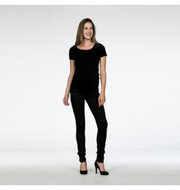Love2Wait Love2Wait zwangerschapsbroek L32 Skinny fit Zwart