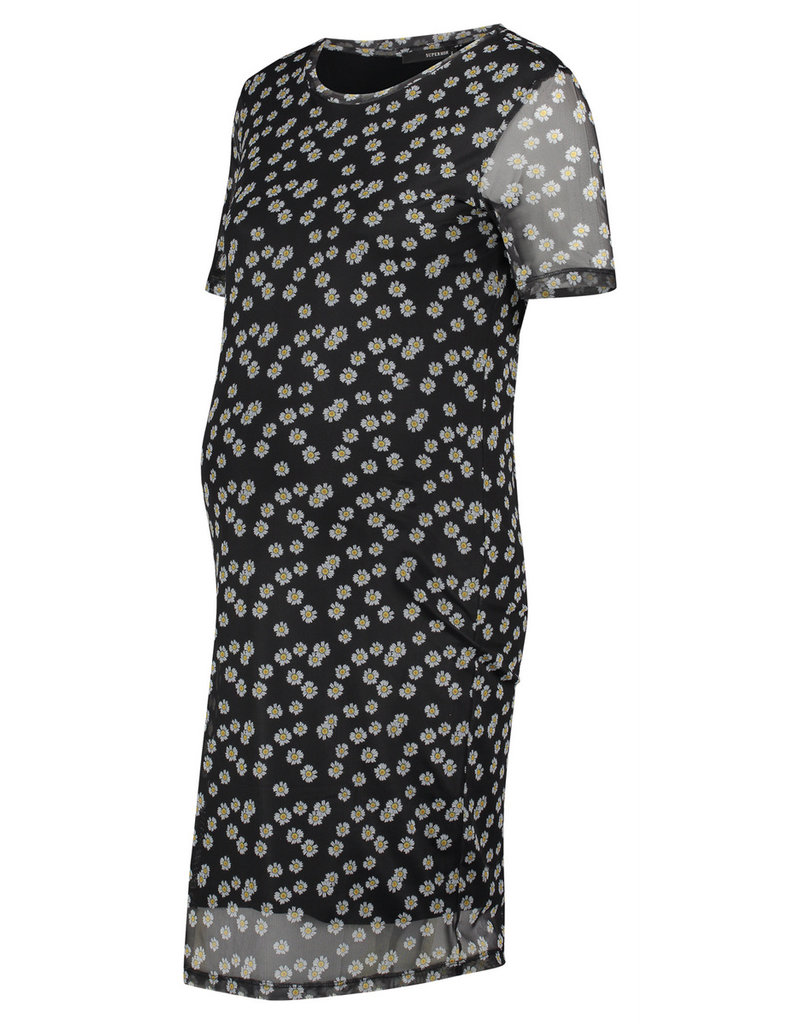 Supermom Supermom Jurk Black Flower 20220413