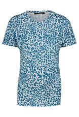 Supermom Supermom T-Shirt Leopard blue 20240013 P185