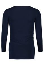 Noppies Noppies voedings pyjamashirt Demi donker blauw 90N4413 P277