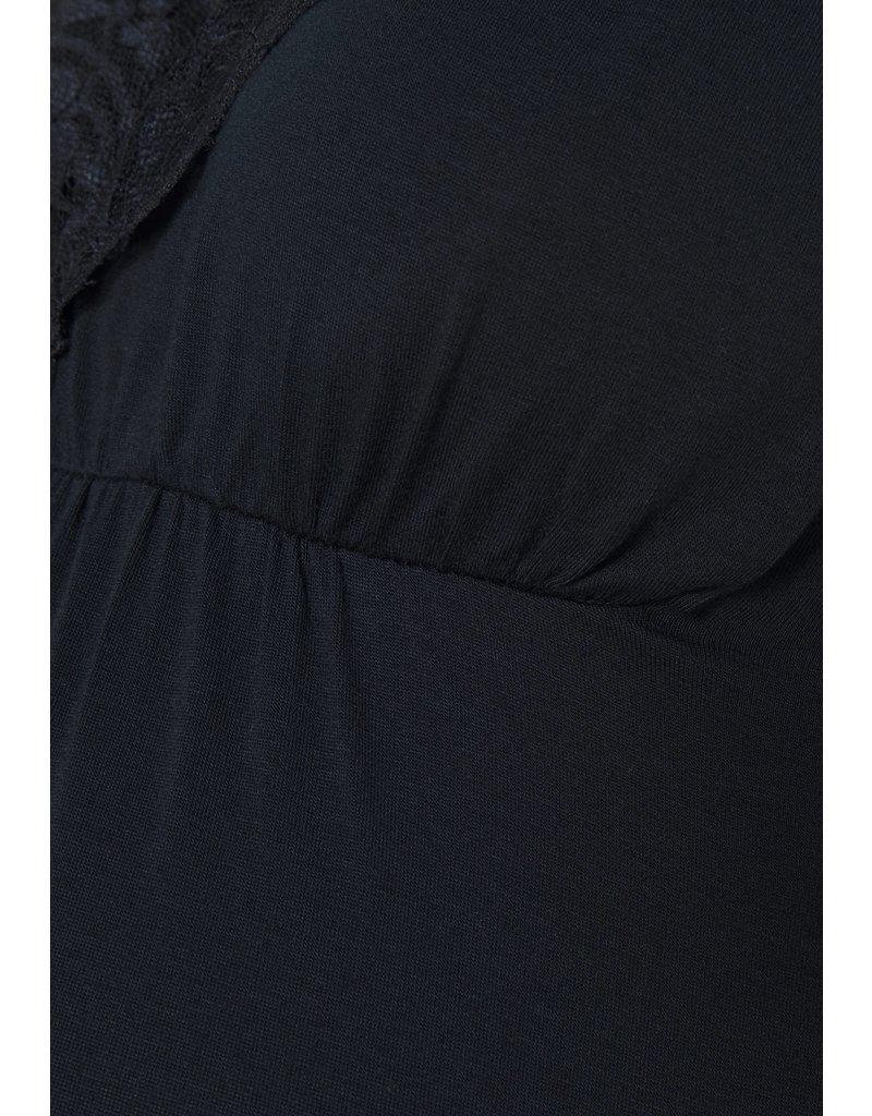 Love2Wait Love2Wait Shirt Nursing Lace Navy C202064 006