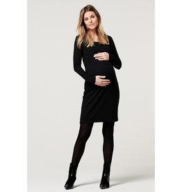 Noppies Noppies zwangerschapsjurk Zinnia ls zwart