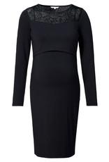 Noppies Noppies jurk met voedingsfunctie Corsham zwart 20090421 P090