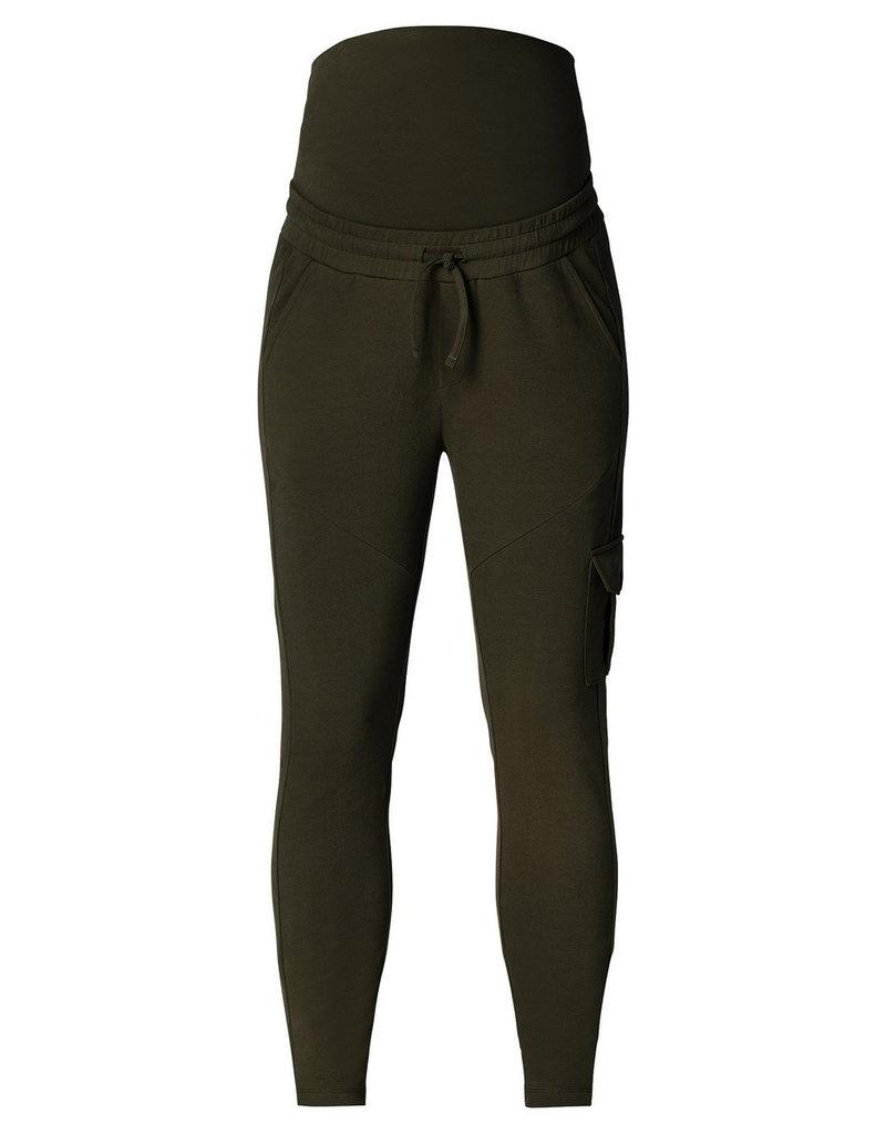 Supermom Supermom broek chill pants Cargo green 20291111 P455