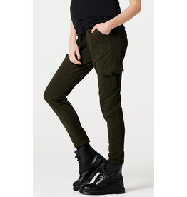 Supermom Supermom zwangerschapsbroek chill pants Cargo green