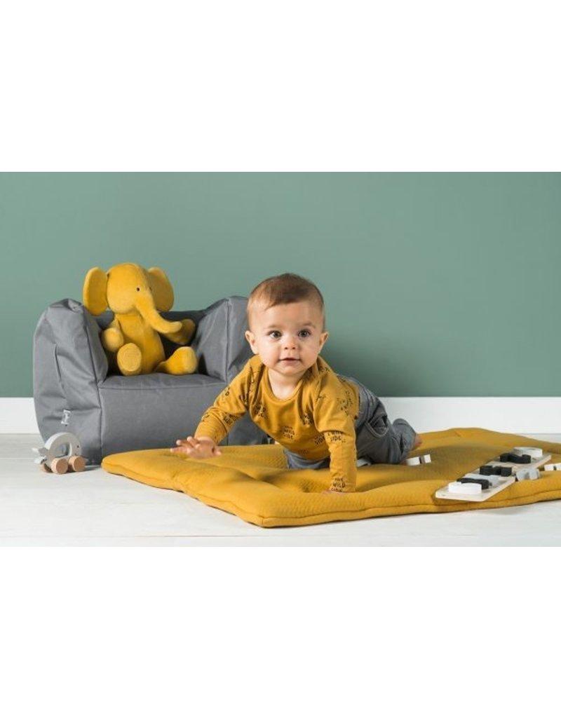 Jollein Jollein Beanbag baby / kinderstoeltje zitzak staal grijs