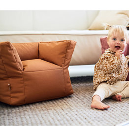 Jollein Jollein Beanbag baby / kinderstoeltje zitzak Caramel