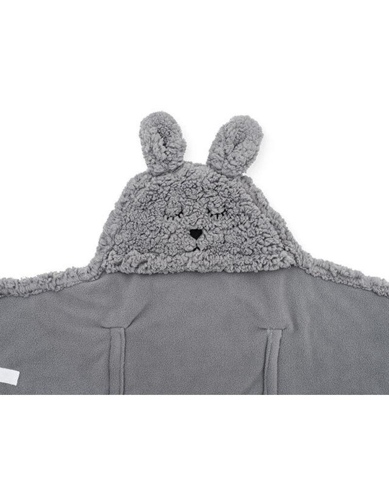 Jollein Jollein Wikkeldeken Bunny Wrap Storm Grey
