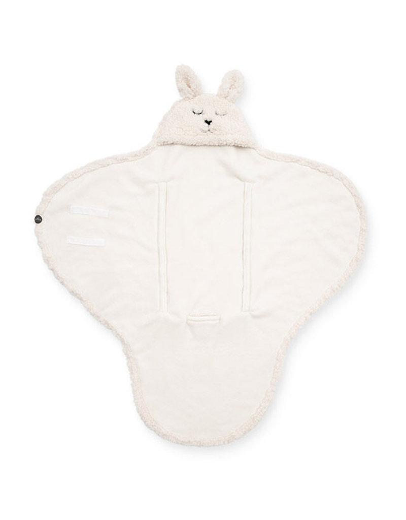 Jollein Jollein Wikkeldeken Bunny Wrap off-white