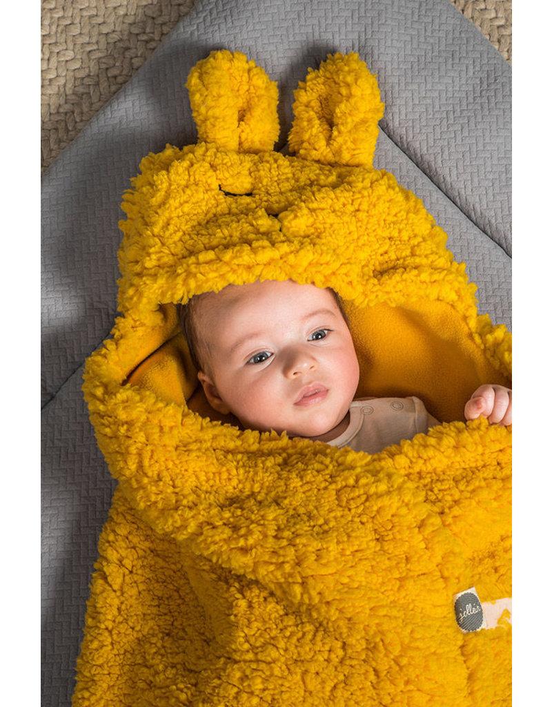 Jollein Jollein Wikkeldeken Bunny Wrap Musterd