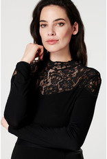 Supermom Supermom Top Lace zwart 202O0018 P090