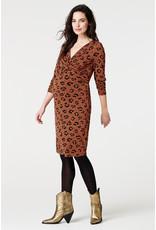 Supermom Supermom Dress met voedingsfunctie Fancy Leopard 202O0412