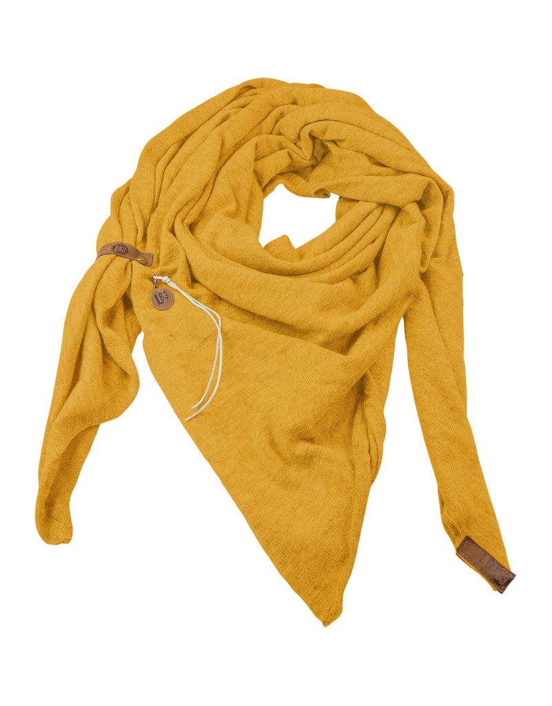Lot83  Sjaal Fien oker geel