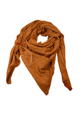 Lot83  Sjaal Fien caramel bruin