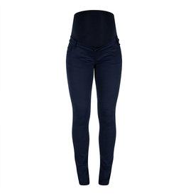 Love2Wait Love2Wait Super Skinny cotton Pants Sophia Navy