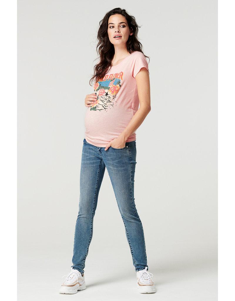 Supermom Supermom shirt Wild Flower roze 1220013 332