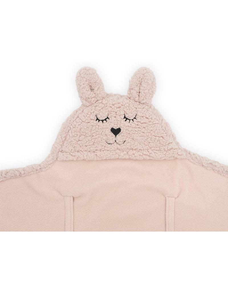 Jollein Jollein Wikkeldeken Bunny Wrap Pale Pink