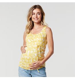 Noppies Noppies zwangerschapstop met voedingsfunctie Fallon geel
