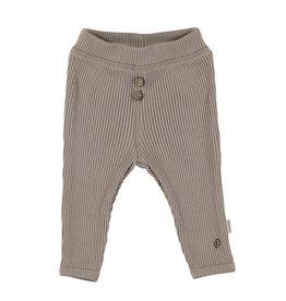BESS Babykleding Bess Baby Pants Organic Rib Sand
