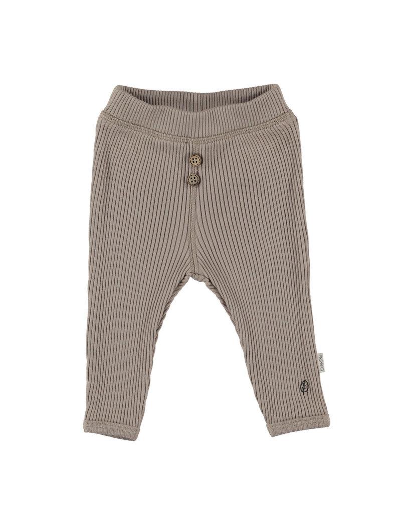 BESS Babykleding Bess Pants Organic Rib Sand BO3007 050
