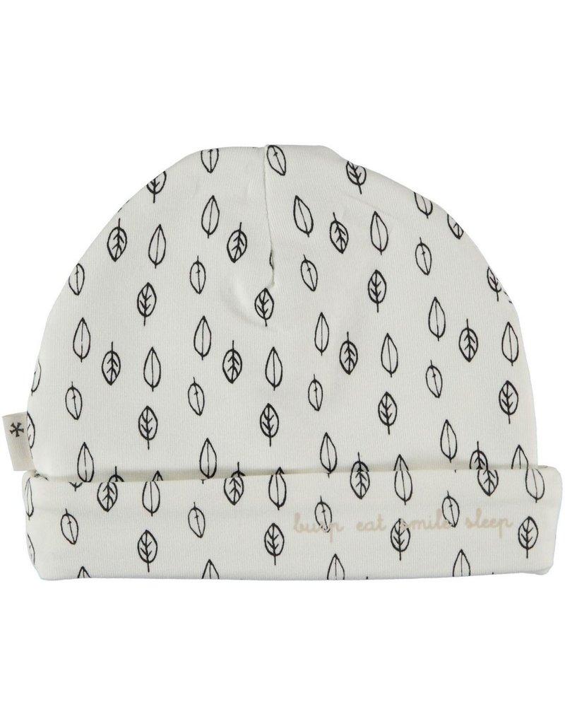 BESS Babykleding Bess Hat Leaves printed Organic cotton BO3008 016