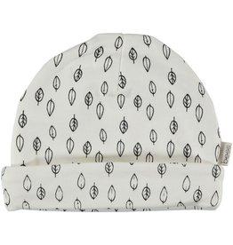 BESS Babykleding Bess Baby Hat Leaves printed Organic cotton