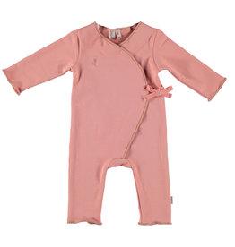 BESS Babykleding Bess meisje Suit Organic Cotton Dusty Rose
