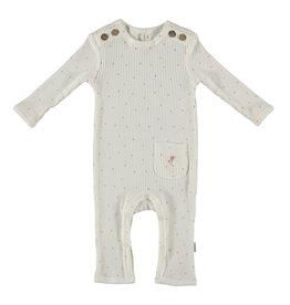 BESS Babykleding Bess meisje Suit Rib Dots organic dessin