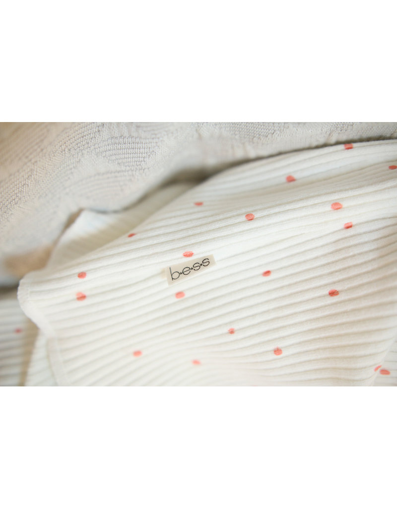 BESS Babykleding Bess Suit Rib Dots organic dessin BO3015 016