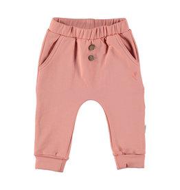 BESS Babykleding Bess Meisje Pants Organic basic Dusty Rose
