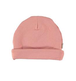 BESS Babykleding Bess meisje Hat basic Organic cotton dusty rose