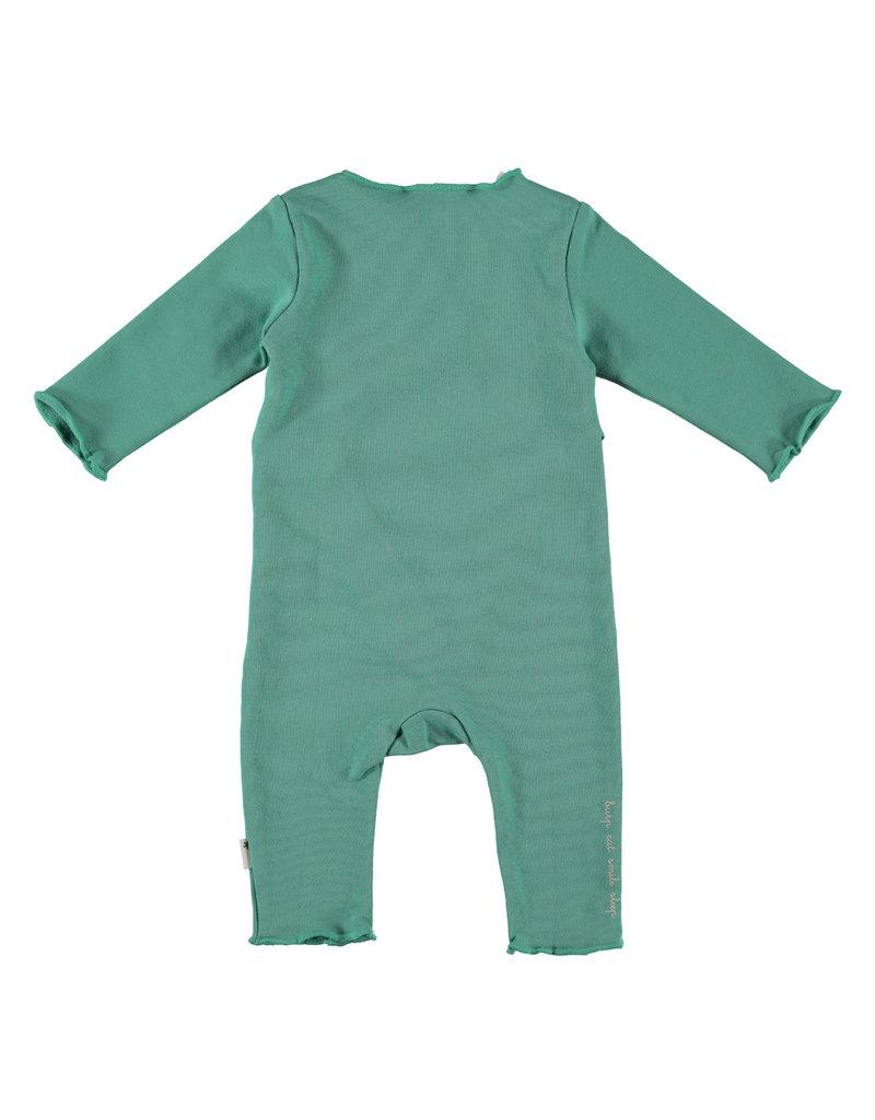 BESS Babykleding Bess Suit basic Green Organic cotton BO3025 014