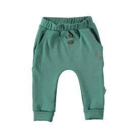 BESS Babykleding Bess Baby Pants Green basic organic cotton