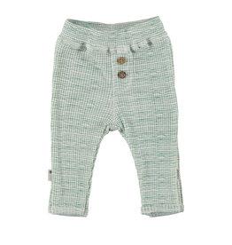 BESS Babykleding Bess Baby Pants Green striped organic cotton