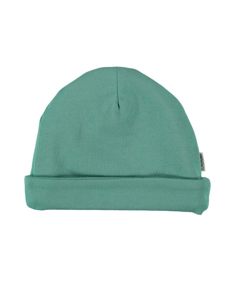 BESS Babykleding Bess Hat basic Green organic cotton BO3029 014