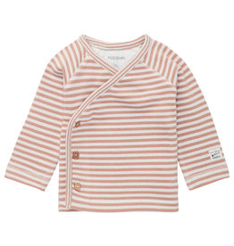 Noppies Babykleding Noppies baby shirtje Ringsted striped white sand