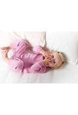 Feetje Baby Feetje Pyjama wafel Roze melange  305533
