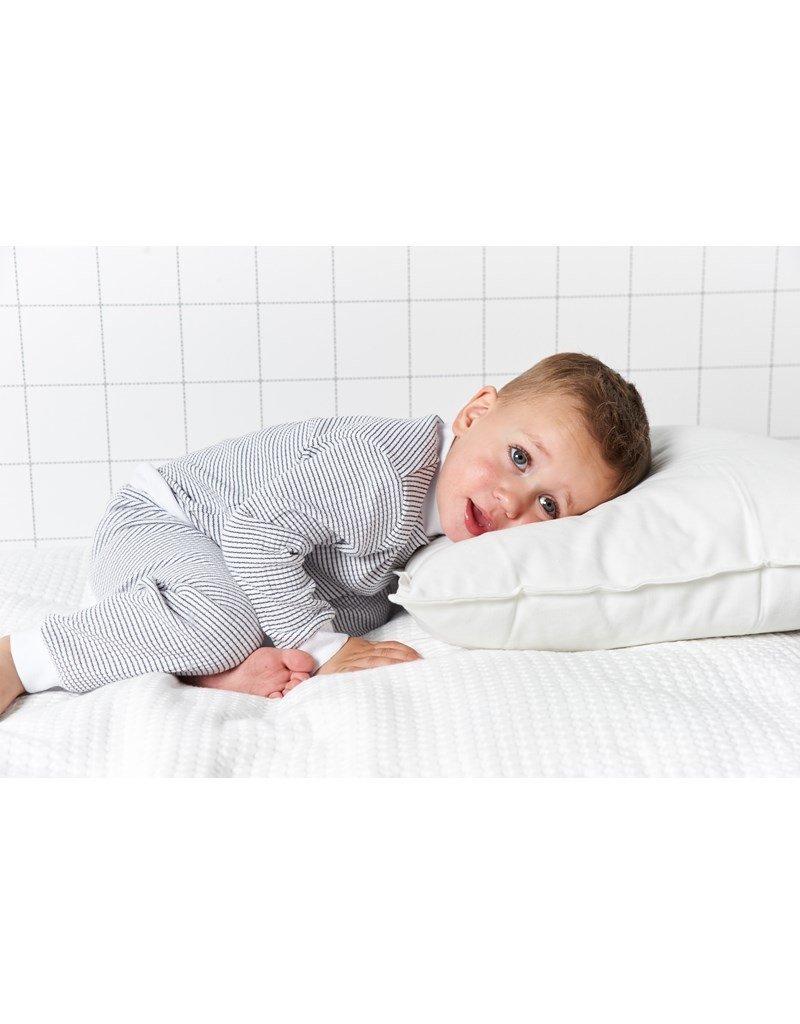 Feetje Baby Feetje Pyjama wafel Classic Blauw / Wit  305.532