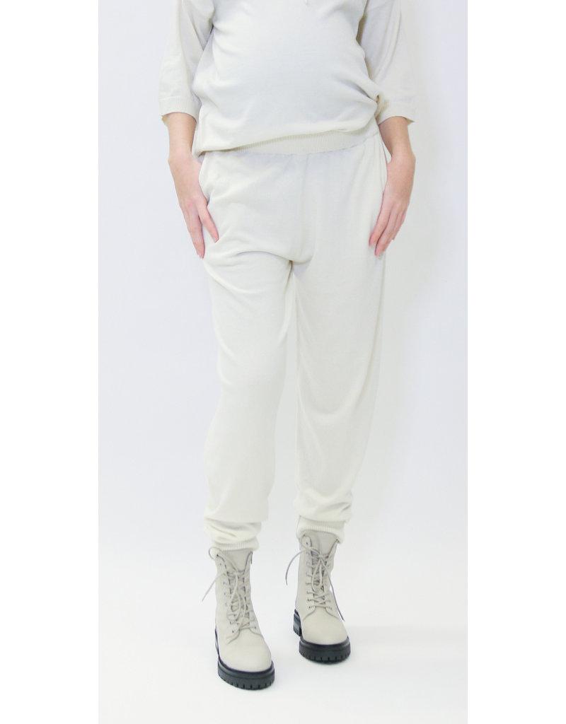 Love2Wait Love2Wait Pants Lounge Off-White  C212015 034