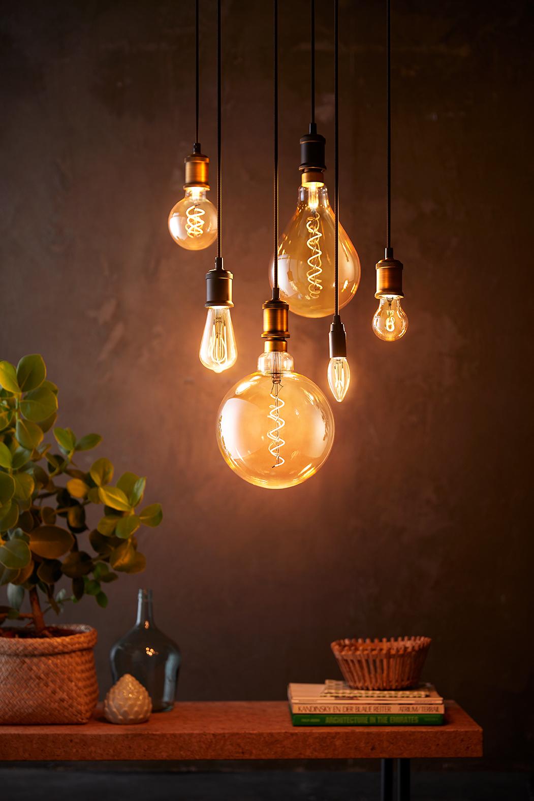 Vintage LED Bol lamp