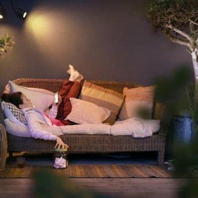De perfecte verlichting om zalig buiten te relaxen