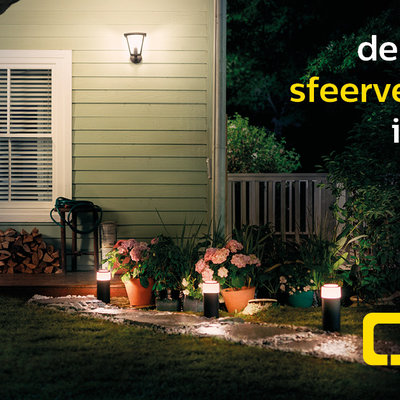 De perfecte sfeerverlichting voor jouw tuin