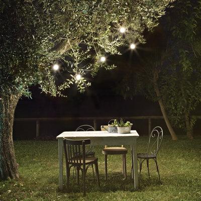 Licht en sfeer in je tuin, ook zonder elektriciteit