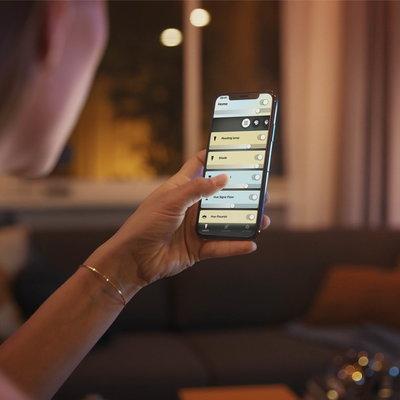Betaalbare slimme verlichting in huis met Bluetooth