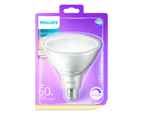 Philips LED lamp PAR38 9 W (60 W)